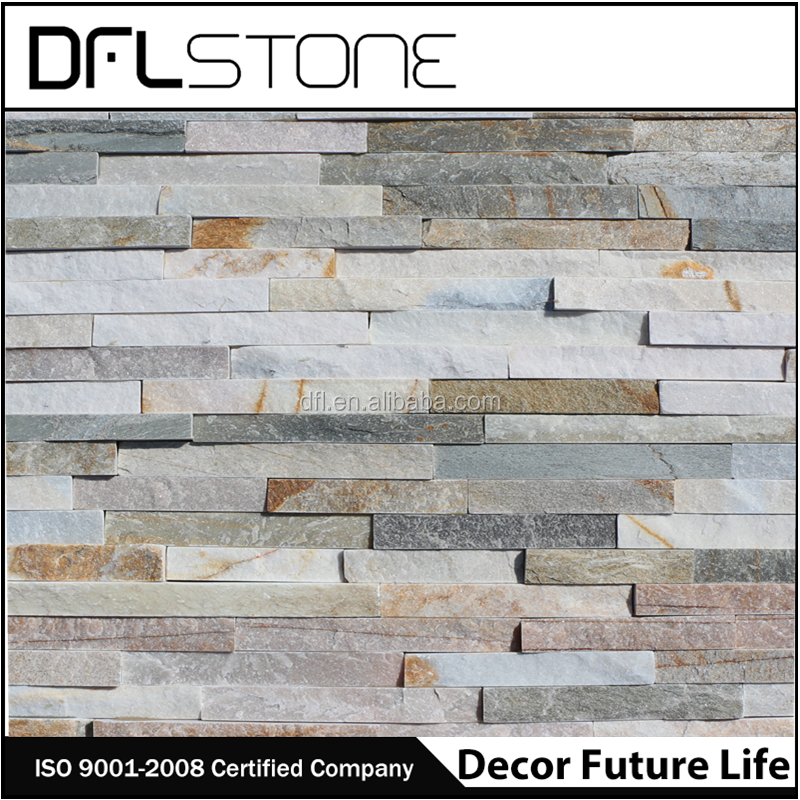 Chinese natural stone beige quartz slate