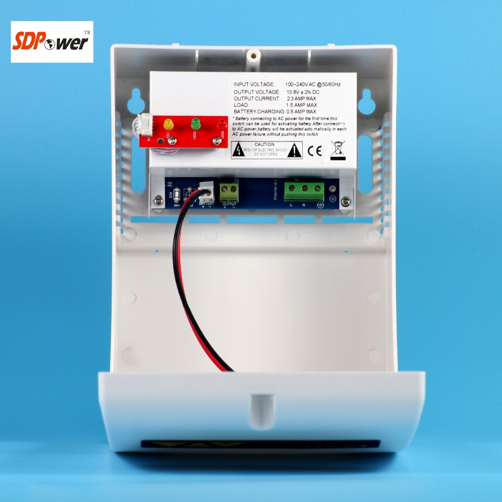 Sdpower Access Controller Power Ac 90-250v Dc 12volt 5amp Plastic ...