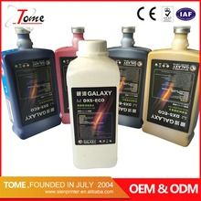 Eco sol ink for DX5 head eco solvent inkjet printer plotter ink for vinyl printing supplier in Guangzhou