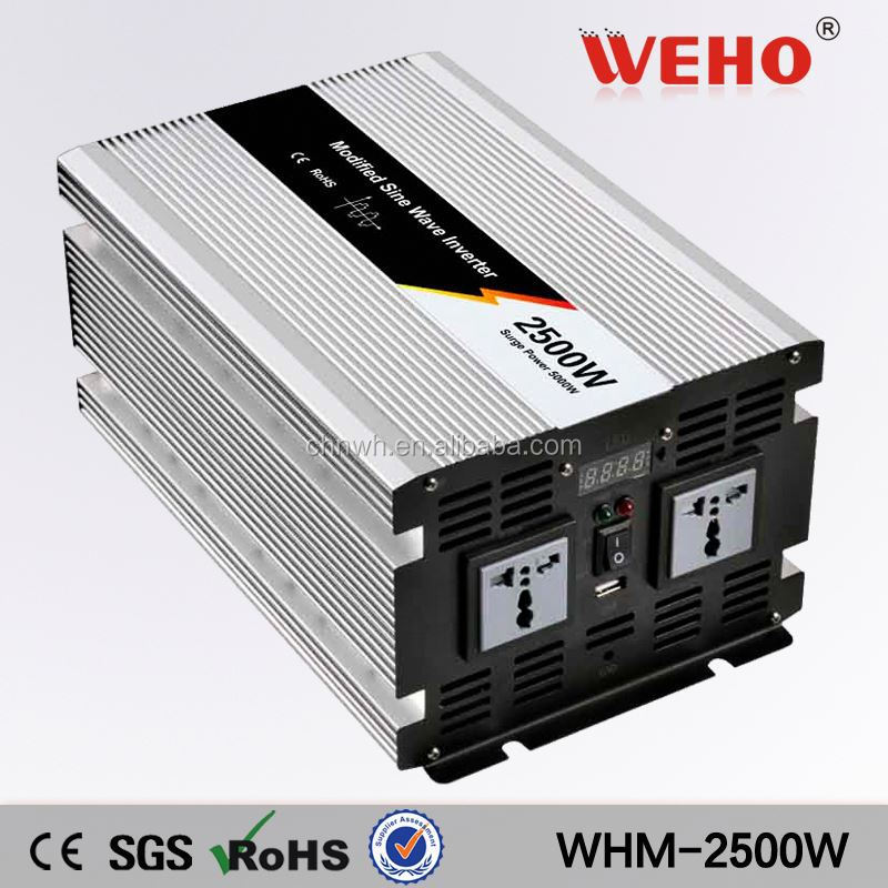 Output transformer 2500w 220v 48v dc to ac solar power inverter