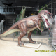 Life size lifelike playground dinosaur statue for sale