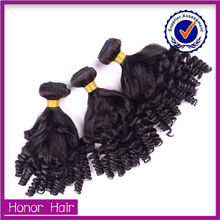 Thick Bottom !Most beautiful factory price jet black brazilian hair