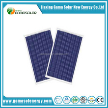 High quality photovoltaic 50w/150w poly solar panel with thin film