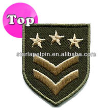 Novelty Cheap Custom Embroidery Military Force Rank Insignia Patches