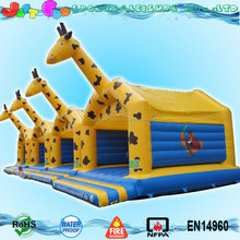 hot sale buy giraffe bouncy castle prices inflatable