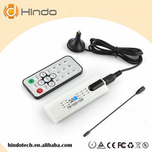 DVB T2 Wholesale Digital Satellite DVB T2 USB TV Stick Tuner TV Receiver for DVB-T2/DVB-C/FM/DAB with Antenna Remote control