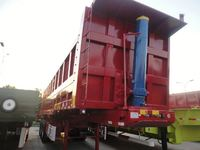 Hot!!! HLQ9190TDP low plate semi-trailer