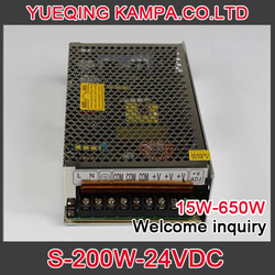 200W 24V 8.3A Single Output Switching power supply for Monitor Display LED Strip light AC-DC S-200-24