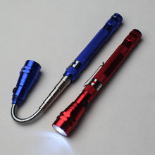 3 Led Extendable Telescopic Led Magnetic Torch