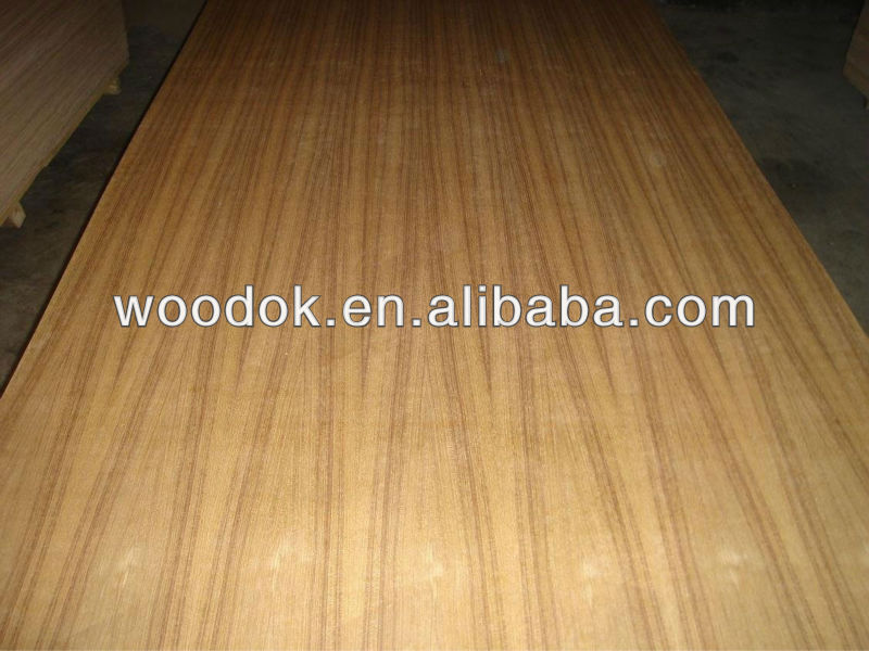 best quality natural burma teak mdf fancy plywood for sale from shandong factory with best price and high quality