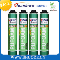 closed cell waterproof pu foam sealant for building