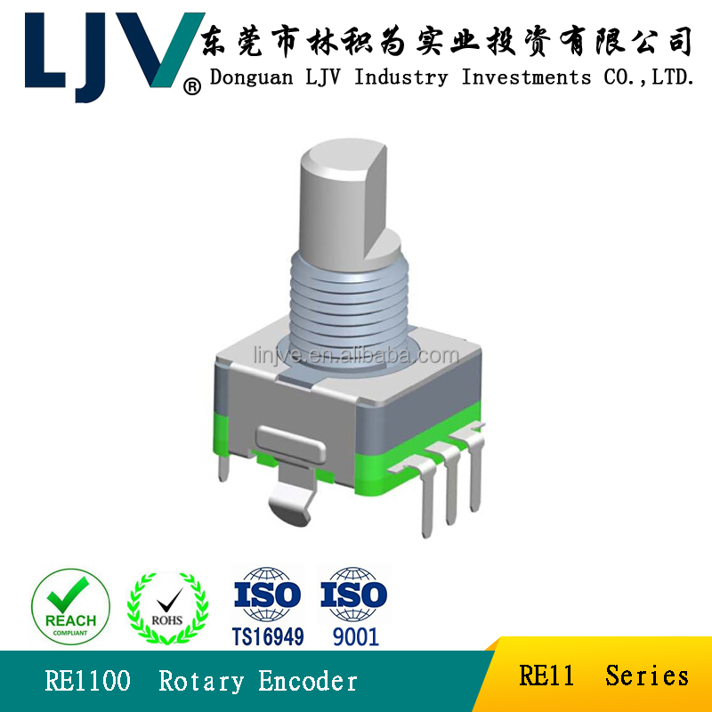 EC11 incremental encoder without push button switch