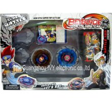 4d Constellation Beyblade,Fight Attack Double Launcher Gyro,Metal Fusion spinning top set