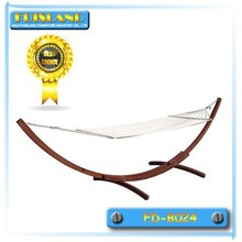 Outdoor wooden swing bed hammock swinging outdoor hammock