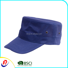 Custom cotton navy all kinds of flat top round top headwear lady's hats and caps men women casquette homme cheap siggi spf hats