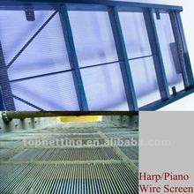 high tensile steel piano wire screen