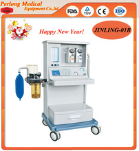 JINLING-01B Newest Anesthesia Equipment-CE Approved Trolley Anesthesia Machine