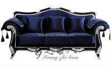 Antique sofa furniture Pakistan /Impote home furniture from China/Antique reproduction sofas cheap A76c#
