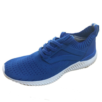 Wholesale Latest Design knit Running Shoes Men