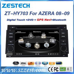 For Hyundai AZERA 2008 2009 car multimedia player+2 din car entertainment navigation system,car radio GPS,digital TV