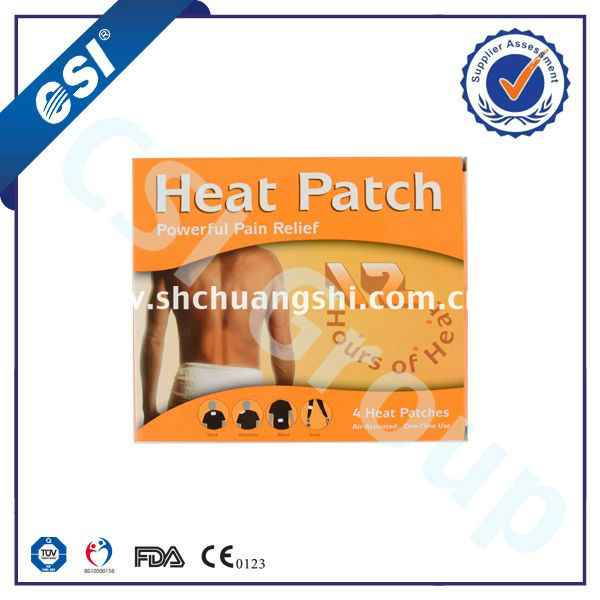 self heating neck pads