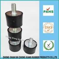 VD3020 Support Screw Rubber, anti vibration rubber damper cylinderical mount