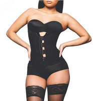 Everyday waist trainer zipper slim colombian waist cincher wholesale latex ann chery waist cincher 101R-H