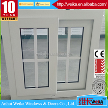 Direct sales design of sliding pvc windows and door for houses in the philippines
