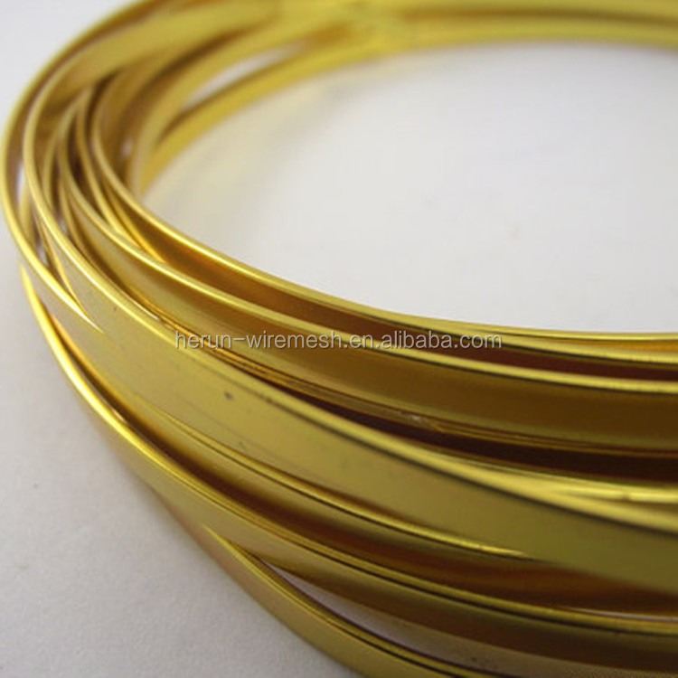Gold Flat Craft Wire, Gold Flat Craft Wire Suppliers and ...