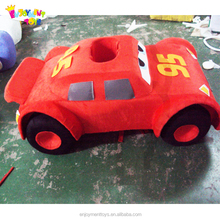 Enjoyment CE cartoon movie car mascot costume for sale