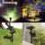 solar power garden light Solar Spotlight Adjustable Wall Light Landscape Light Security Lighting Dark Sensing Aut