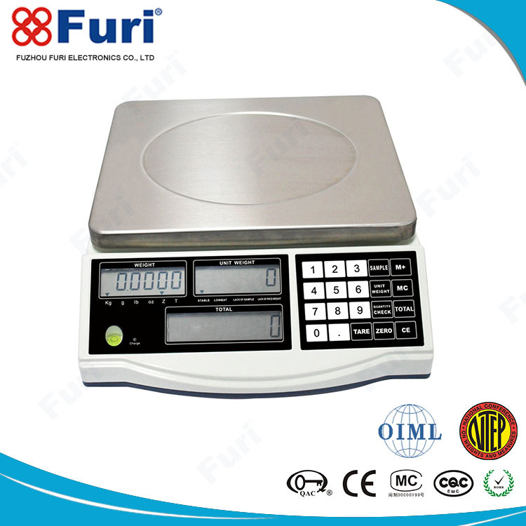 Furi ACS-LC digital money counting scale with reasonable price and good after-sale service