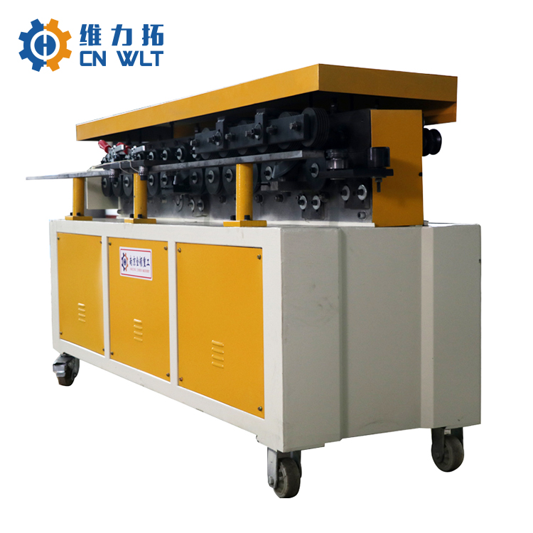 hvac ventilation square duct steel sheet auto flange making machine for sale