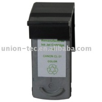 Remanufactured Inkjet Cartridge for CANON CL-831 3C DYE