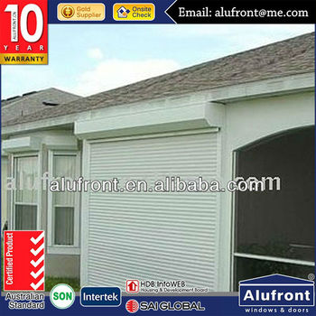 Customer's Made Aluminium Garage door /Roller Shutter Door