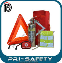 American type Extintor 2L foam Stainless Steel Fire Extinguisher kit with tire pressure gauge