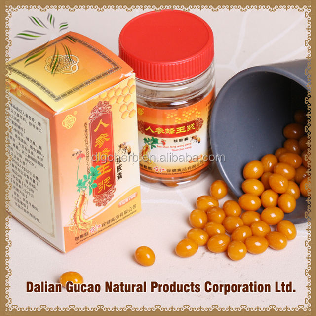 health products Ginseng Fresh Royal Jelly Soft Capsules
