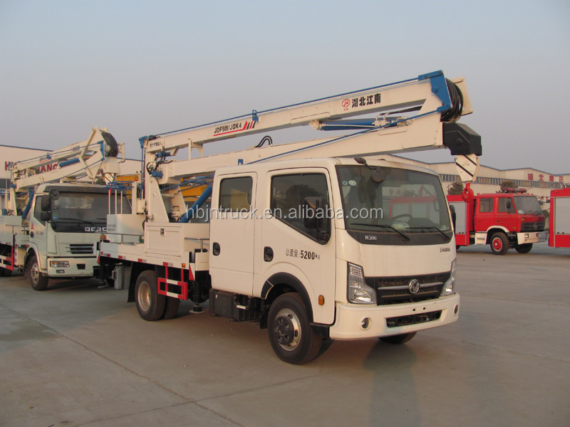 Dongfeng 14m articulated boom lift bucket truck