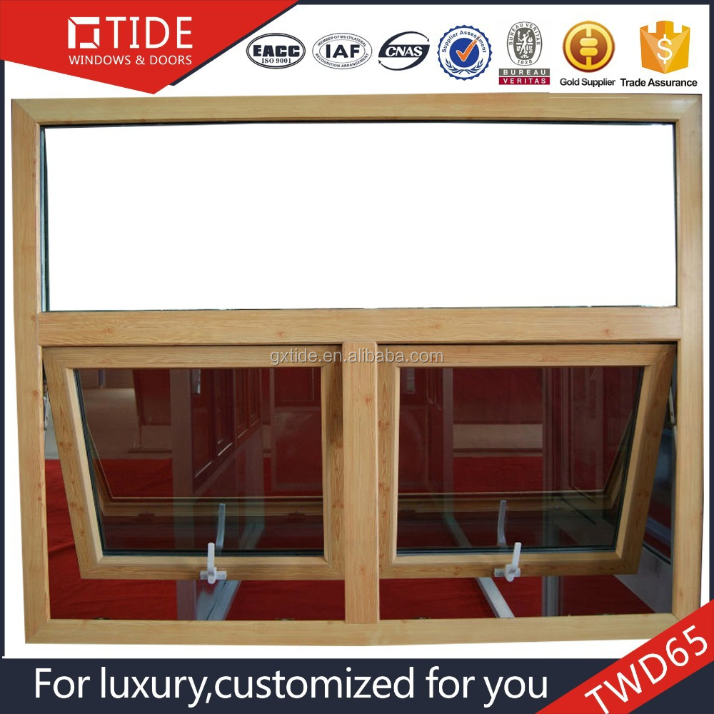 Aluminum side hung casement window ,aluminum clad wood double hung windows