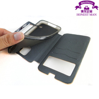 flip case for samsung galaxy mega 5.8 with tpu inside case from Guangdong