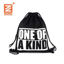 Cheap Custom Wholesale Promotion Waterproof Mini Nylon Polyester Drawstring Bag sports duffel bag