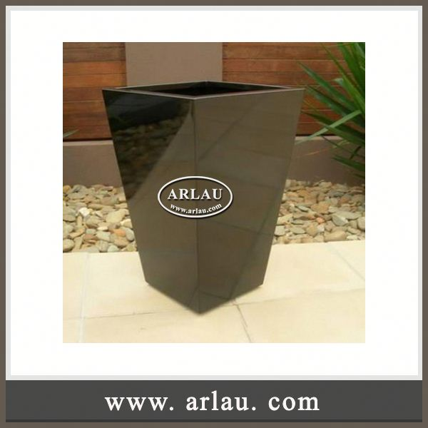 Arlau Tin Flower Pot,Large Oval Planter Pots,Oval Bucket Planter