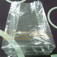 manufacture hot sell disaposible bread packing square bottom bag