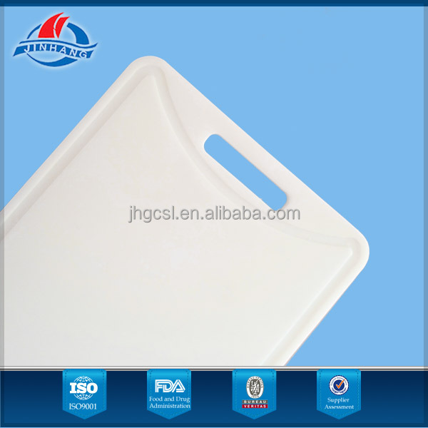 High-performance health white plastic chopping board with high-quality material