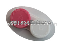 factory price custom cheap contact lenses case/container