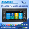 car dvd gps navigation system For AUDI A4 R4 RS4 car gps with auto radio Bluetooth SD USB Radio wifi 3G