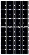 high efficiecy 165w mono solar panel for solar system with CE and TUV certificates
