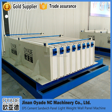 OYADE brand full automatic vertical/horizontal type cement and eps sandwich panel production line