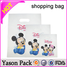 Yason heatt seal plastic shopping bags promotion cheapest paper shopping bags printing and design factory bio-degradable tradin