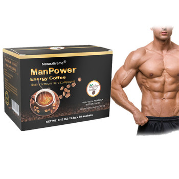 Quality Chinese Products Mushroom Rhodiola Rosea Instant Coffee for Man